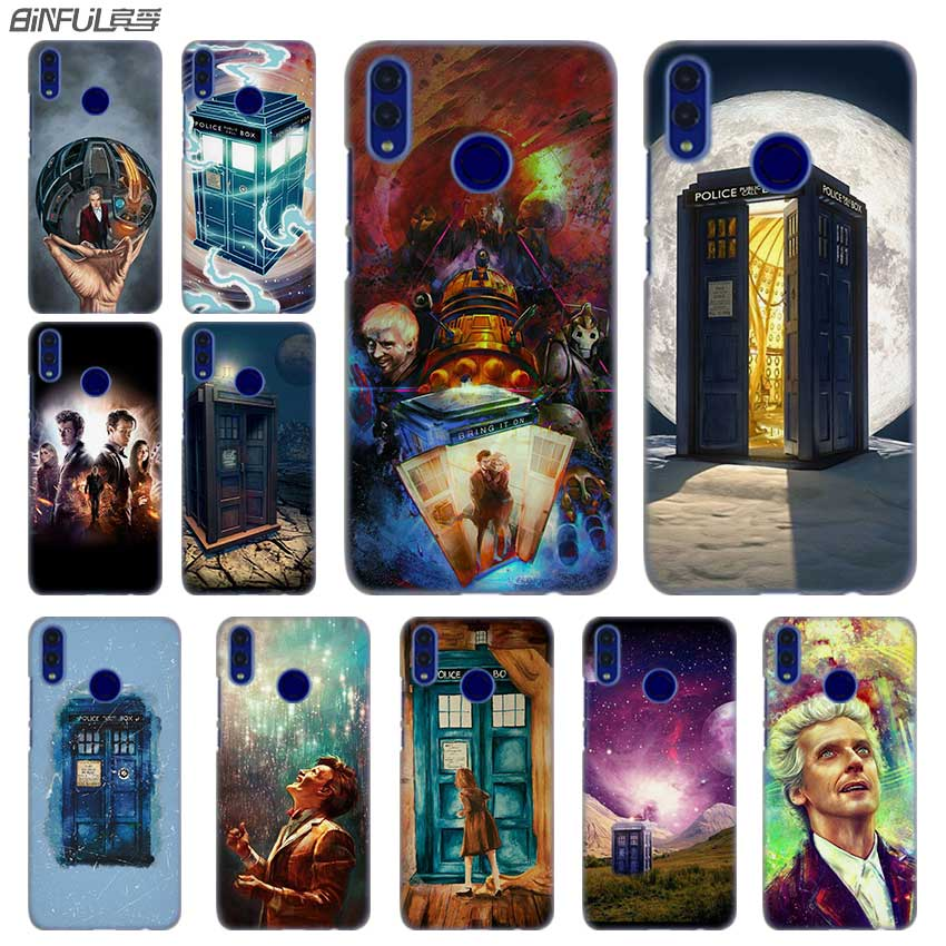 Half-wrapped Case Cellphones & Telecommunications Binful Phone Case Transparent Hard Cover For Xiaomi Mi Redmi Note 7 5 4 3 4x 5a 6 Pro 64g S2 Plus Doctor Who Tv