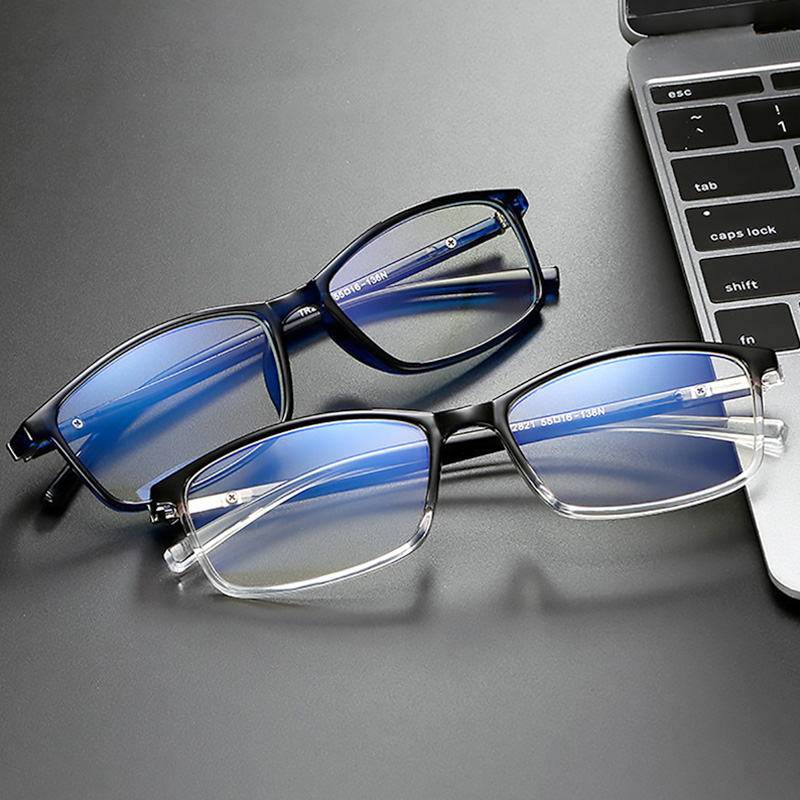 New Blue Ray Computer Glasses Men Women Screen Radiation Eyewear Office Gaming Blue Light Goggle UV Blocking Eye Spectacles