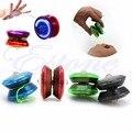 Magic Brinquedo Malabarismo Movimentos Extravagantes LED Piscando Luz Acender YoYo Bola Cor Aleatória