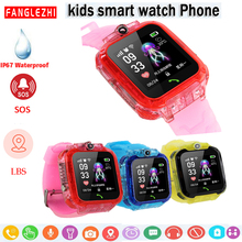 Q12 Smart Watch For Kids With SIM Card And LBS 2019 New SmartWatches Clock IP68 Waterproof Touch Screen Phone Android