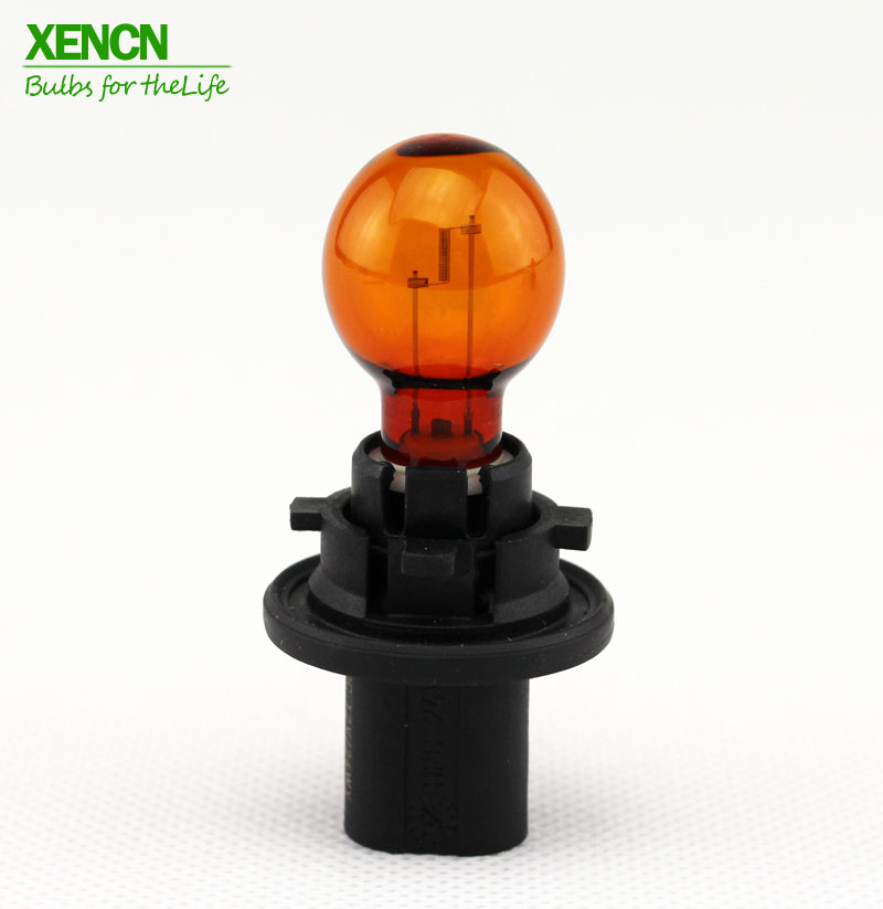 XENCN 12272NA PH24WY 12V 24W PU20d-6 Amber Color Turn Signal Light Car Bulb 1X For Porsche sargan гарпун сарган д арбалетов зацеп прорез сталь 174 ph d 6 25мм 105 см 1 флажок