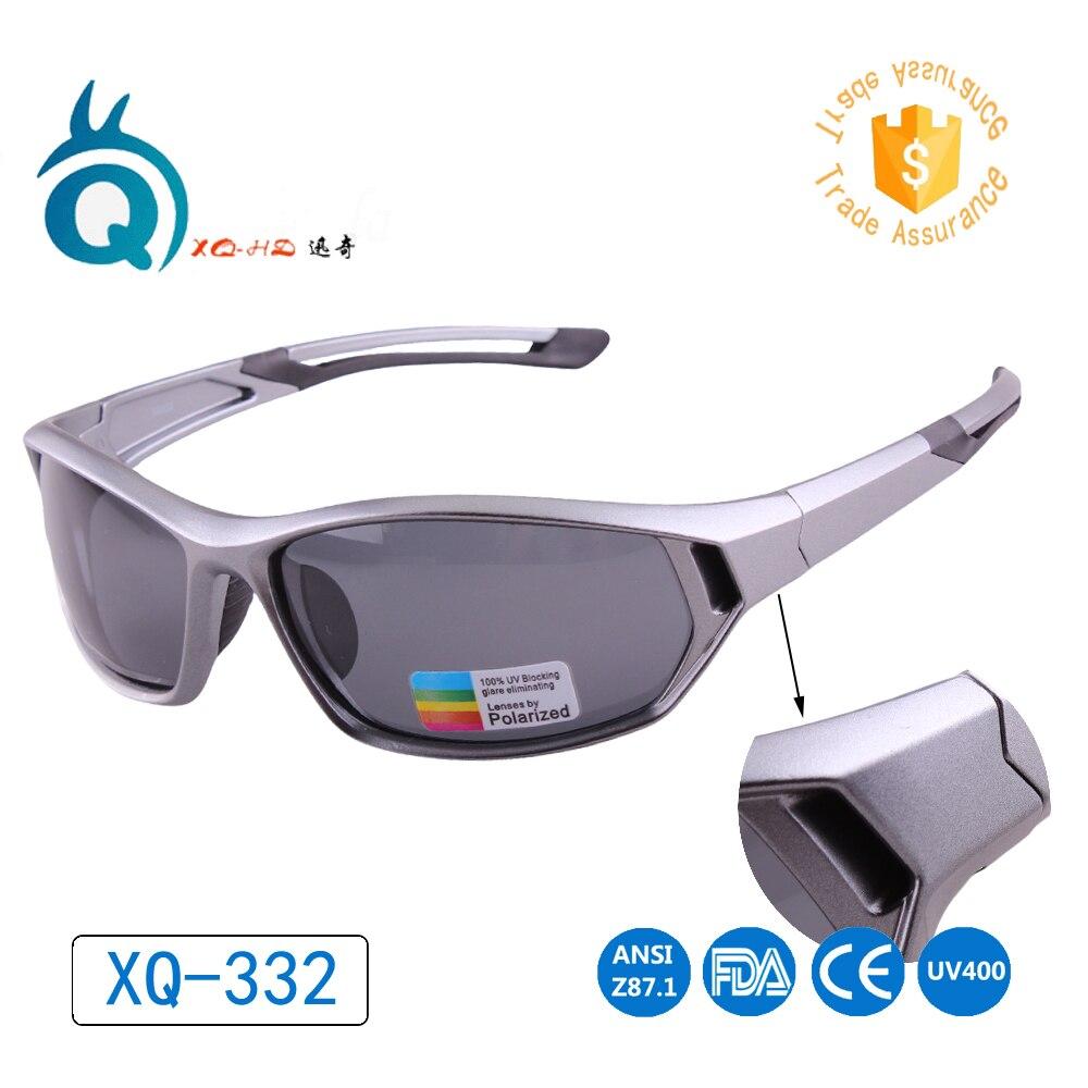 Nový příjezd Vlastní Design nejnovější šedá full frame s měkkou gumou polarizované čočky člověk wom unisex sluneční brýle venkovní sportovní brýle
