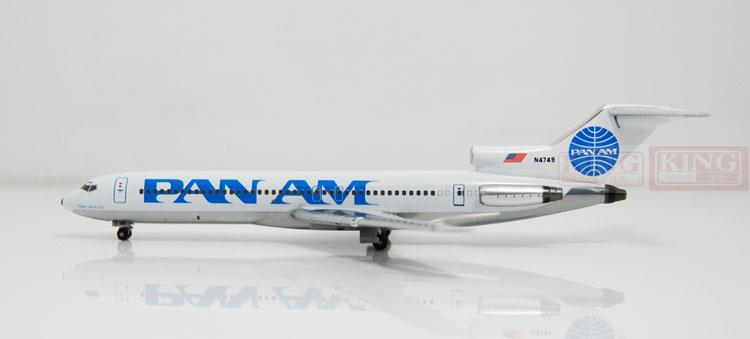 Apollo A13034 B727-200 N4749 1:400 Pan American Airlines commercial jetliners plane model hobby a13036 apollo indonesia aviation pk gsh 1 400 commercial jetliners plane model hobby b747 400