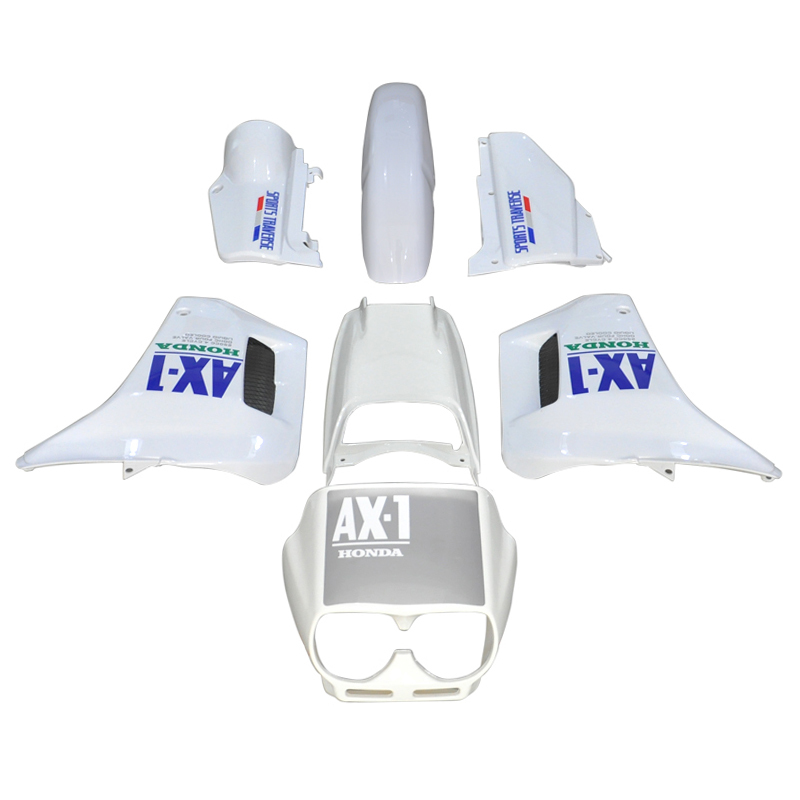 LOPOR ABS пластик Обтекателя обтекатель кузова Комплект для Honda NX250 AX в-1 в NX 250 AX1 спортивных траверс Белый Новый