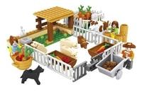 Model Building Kits Compatible With Lego City Friends Happy Farm 3D Blocks Educational Model Building Toys