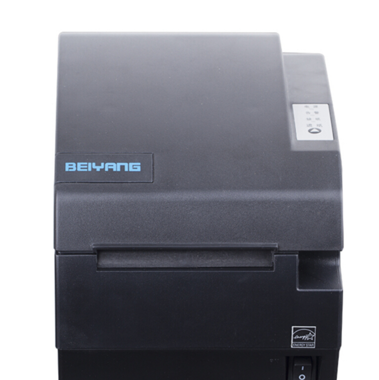 Thermal printer 80mm with cutter sticker barcode label printer BTP-R580 ethernet port built-in adapter for restaurant ticket
