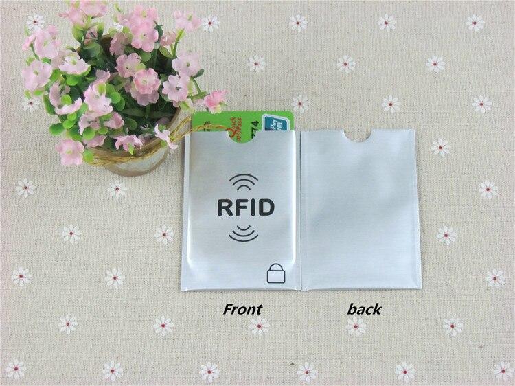 3 шт. утолщаются Анти RFID Блокировка Reader замок банк держатель для карт ID Card Case RFID защиты металла кредитной держатель для карт алюминия