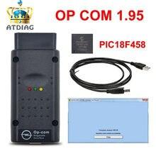 COMOP V1.95 com PIC18F458 V1.59 V1.78 V1.99 OP-COM firmware Para O * pel COMOP Diagnóstico-ferramenta OP com com real pic18f458