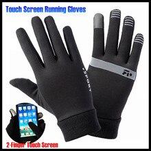Men&Women Winter Warm Lightweight 2-Finger Touch Screen Gloves,Super Elastic Quick-dry,Non-slip,Jogging Sporting Magic Gloves