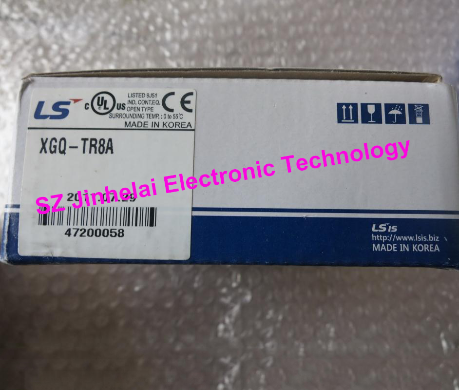 100% New and original XGQ-TR8A LS Plc output unit, Tr.(NPN Type) Output 64 points(DC12/24V 0.1A) plc a1sx42 s1 input unit dc12 24v dc a1 module