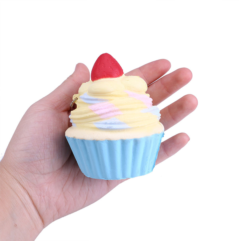 Squishies Slow Rising Jumbo Beautiful Package Sweet Cake Ice Cream Slow Rising Scented Stress Relief Toy Kids Gift W524