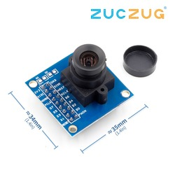 1Pcs Blue OV7670 300KP VGA Camera Module for arduino DIY KIT