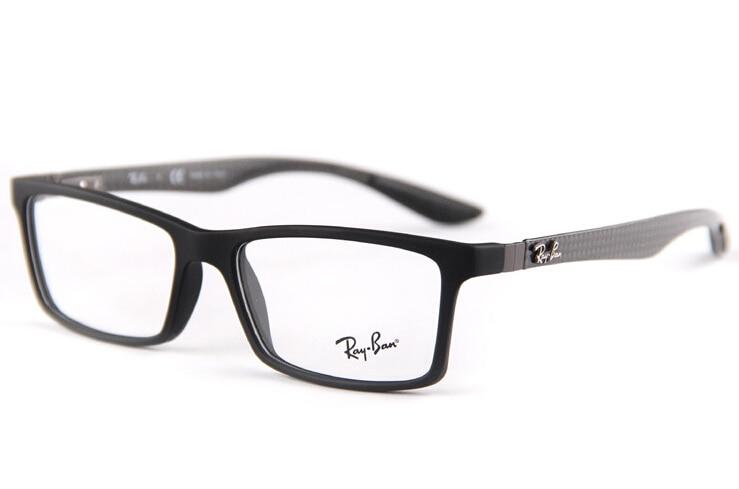 Carbon Fiber Board Rb8901 Optics Glasses Top Quality Chic