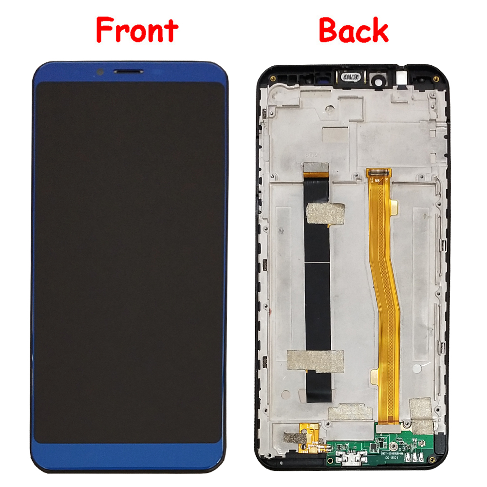 For NUU Mobile G2 LCD Display and Touch Screen With Frame Assembly Replacement With Tools For NUU Mobile G2 - 2