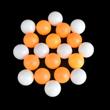 039f0f60c9 10 piezas Amarillo Blanco profesional pelota de tenis de mesa Ping Pong  bolas de entrenamiento competencia