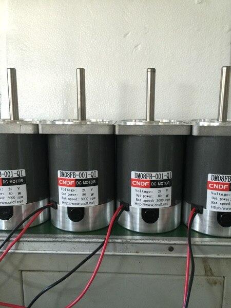 Dc Permanent Magnet Motor 24v3000 To 80w Motor Diameter 80mm Shaft Diameter 10mm  zgb60fm g dc 24v 70rpm 8mm shaft diameter permanent magnet geared motor