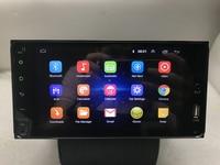 BYNCG 7 ''автомобильный мультимедийный плеер 2 din Android 8,1 4 ядра gps Радио стерео аудио для toyota corolla camry rav4