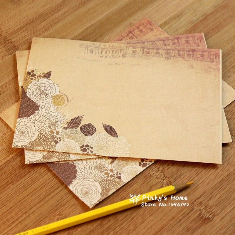 Почтовые конверты, Упаковка