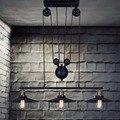 2016 Pendant Light Lamp Retro Metal Edison Vintage Industrial Pendant Retractable Light Adjustable Lamp