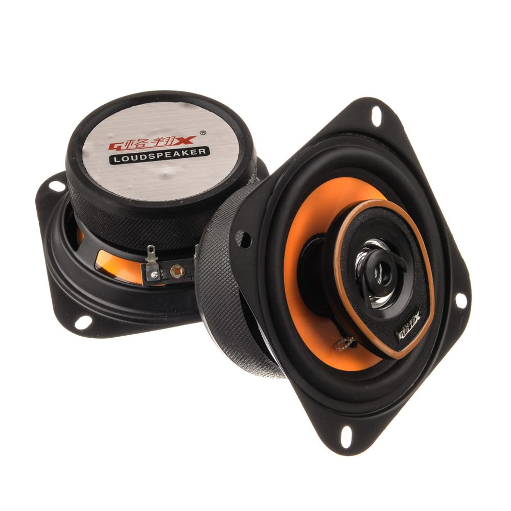car font b audio b font Pair 5 5 inch High Bass car speaker coaxial tweeter