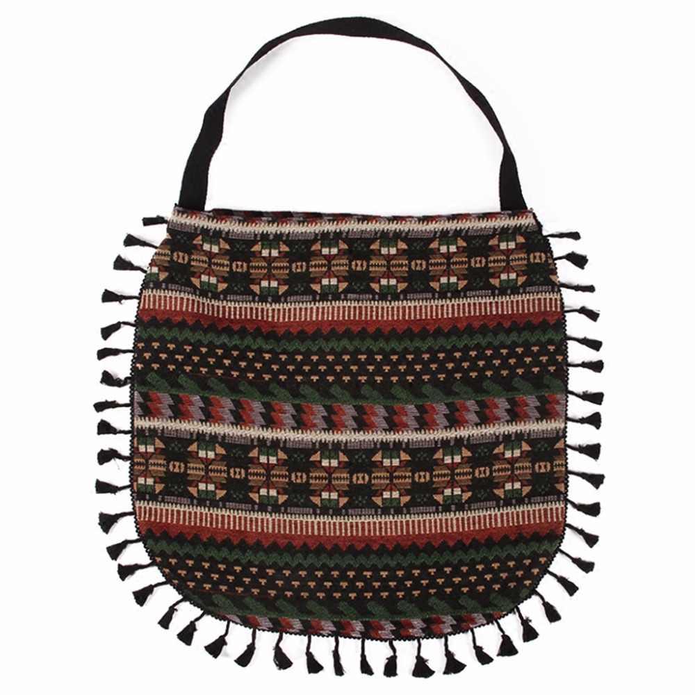 afdd81d10e Bohemian Women Fringe Tassel Handbag Shoulder Bag Tote Purse Messenger Hobo  Shopping Bags 2018 New Fashion