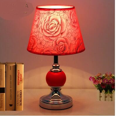 European wedding bedroom decoration table lamp modern  feeding night light dimming energy saving LED bedside lamp XXZSP3European wedding bedroom decoration table lamp modern  feeding night light dimming energy saving LED bedside lamp XXZSP3