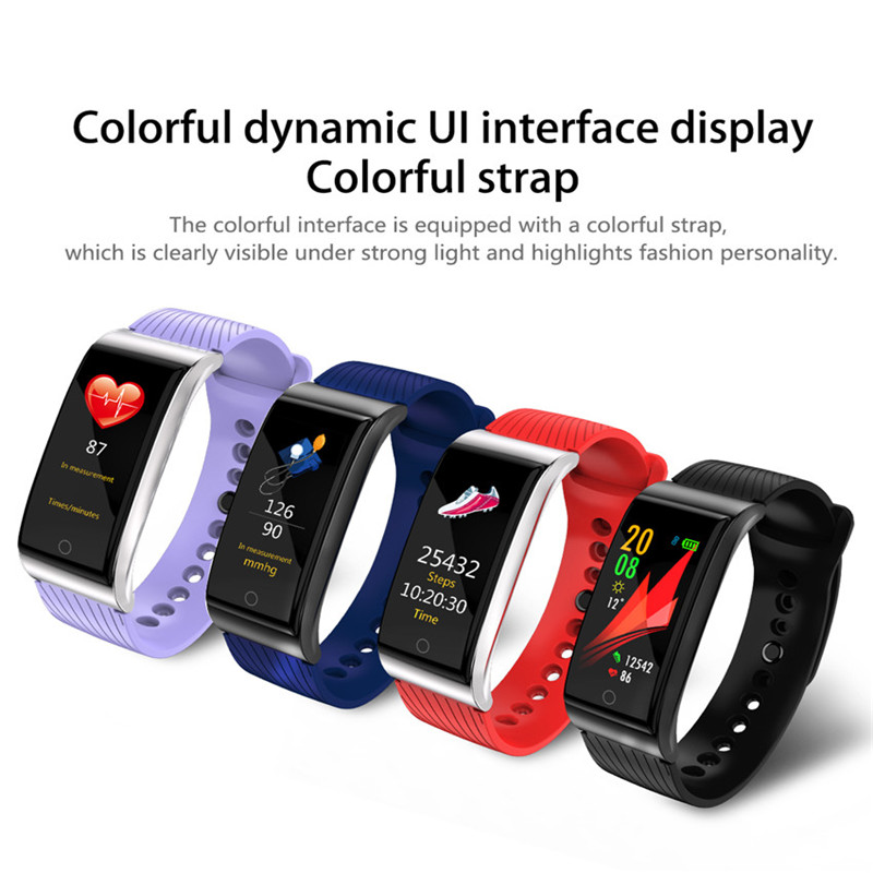 Smart Swim Watch Blood Pressure Heart Rate Monitor App Run For Apple Xiaomi Huawei PK Fenix 5/Fit 3 4