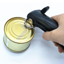 1pc Safe Bottle Opener Knife Professional Ergonomic Manual Can Side Cut Kitchen Gadgets for Jars Canisters