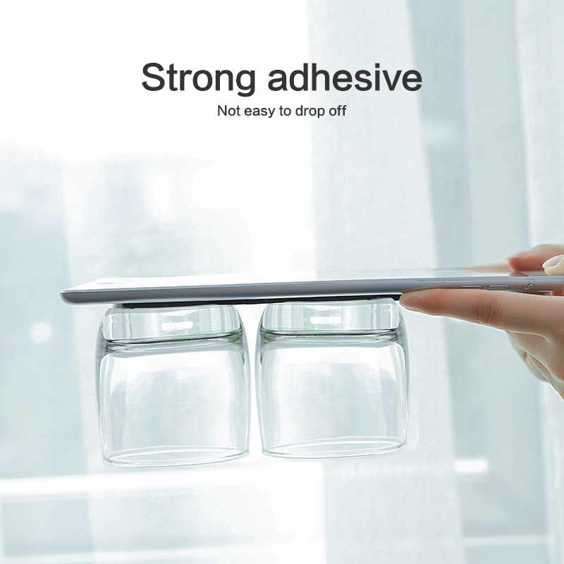 FLOVEME נייד טלפון מחזיק אוניברסלי רב תפקודי שולחן קיר מדבקת סוגר חזק ספיגת רכב טלפון Stand מחזיק הר
