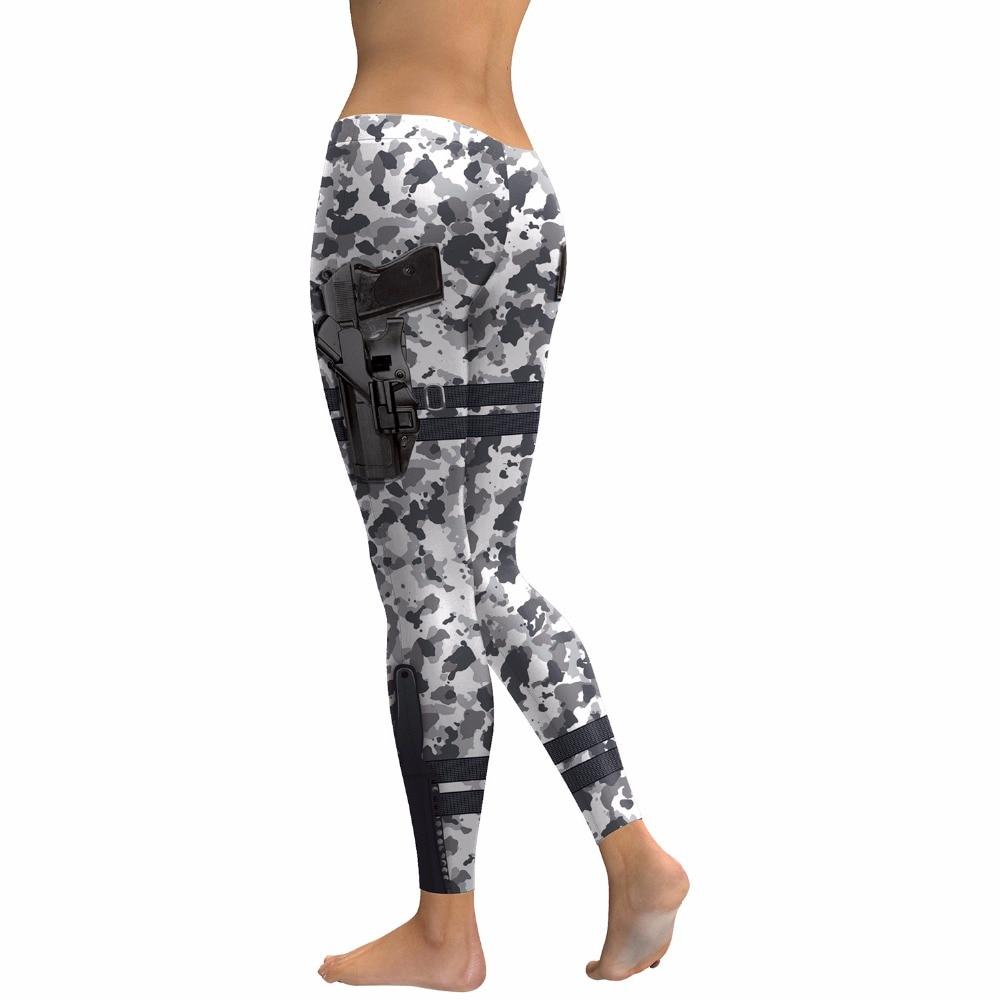 Grey Camo Gun yoga legging 02