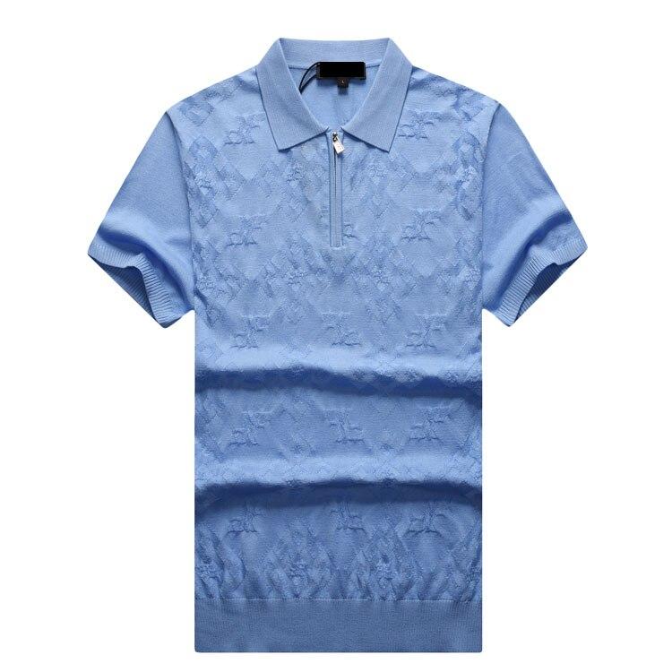 claret Männer Shark Qualität 2017 Hohe Casual Muster shirt Summercomfort Tace Neue Red Kostenloser Versand amp; Sky T Geometrie Billionaire Stil Herren Blue RBf4wA