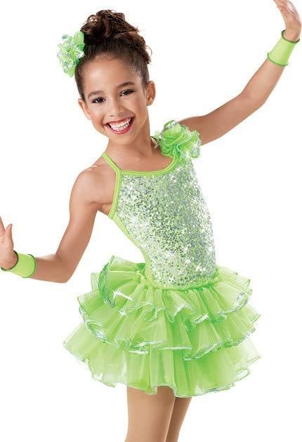 Três camadas criança Ballet Tutu bailarina de Ballet