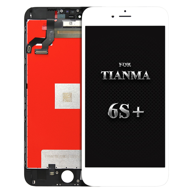 For tianma quality 5pcs Alibaba China Mobile Phone Parts For iphone 6s Plus Lcd Display Touch Screen Assembly free DHL shipping