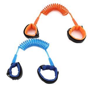 قابل للتعديل الاطفال طقم حزام السلامة الطفل المعصم المقود لمكافحة خسر رابط الأطفال حزام المشي مساعد مشاية للأطفال معصمه 1.5M