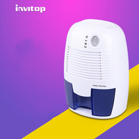 INVITOP Mini Dehumidifier Home Absorber Mute Basement Dehumidifier Wardrobe Dryer Absorbance Device
