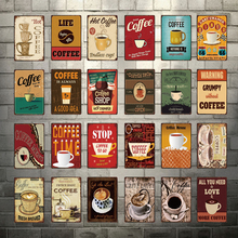 цена на [ Kelly66 ] Coffee Shop Best Good Life Hot Metal Sign Tin Poster Home Decor Bar Wall Art Painting 20*30 CM Size Dy74
