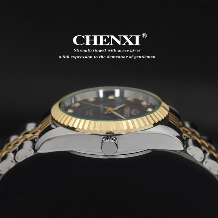 Couples Quartz Watch, Men's & Women's Watches, 30m Waterproof Wristwatches 26