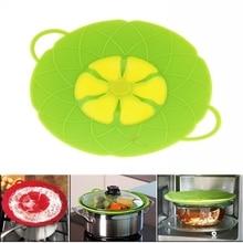 Новые кухонные гаджеты, безопасная силиконовая крышка, пробка для разлива, крышка для сковороды диаметром 28,5 см, инструменты для приготовления пищи, крышки для кастрюль, посуда