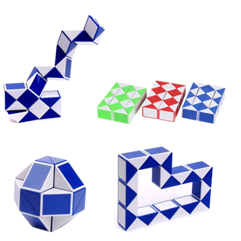 New Cool Snake Magic Variety Popular Twist Kids Game Transformable Gift Puzzle