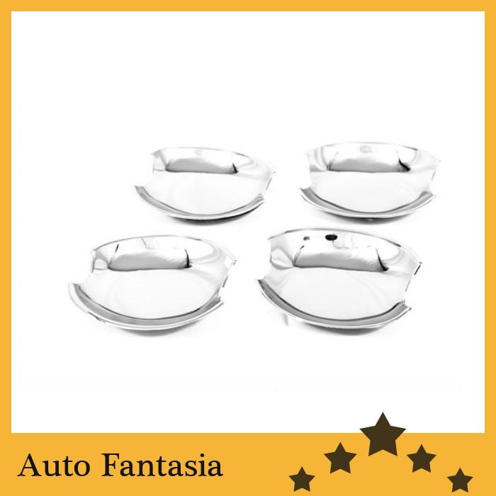 ᗔCromo tiras exteriores accesorios cromo puerta cavidad-para Mazda ...