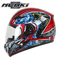 NENKI Full Face Motorcycle Helmet Capacete da Motocicleta Cascos Moto Casque Kask 816H Racing Riding Men Women Helmet Snake