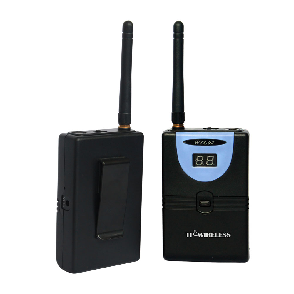 TP-Wireless 2.4GHz Sistema de guía de viaje digital inalámbrico - Audio y video portátil - foto 5