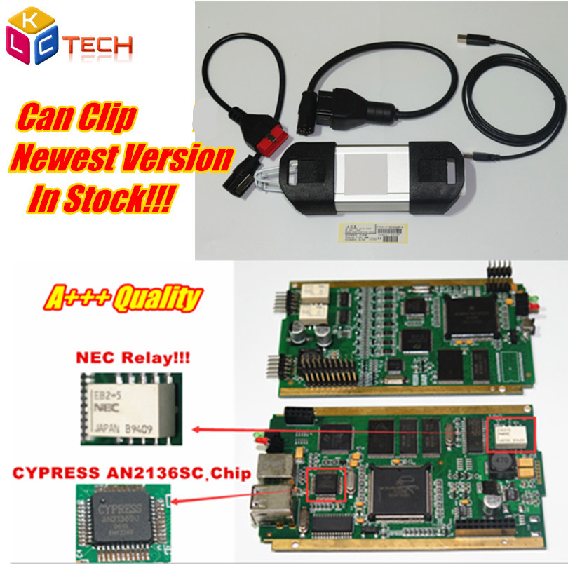 Real Gold Edge With NEC Relay!! Hot Sell Can Clip V178