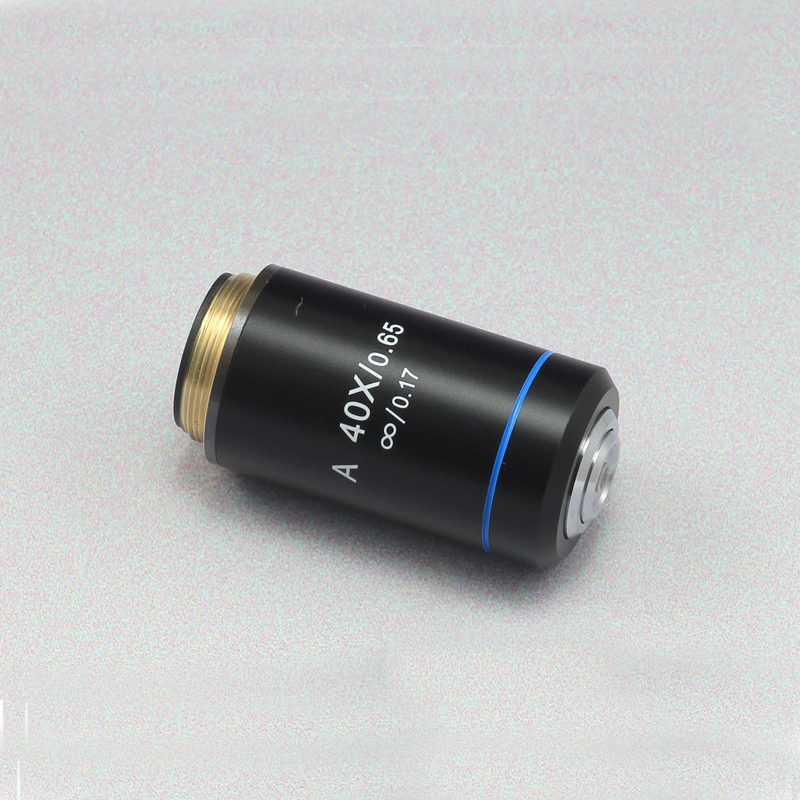 Infinity ACHROMATIC 40x Professional Biological Microscope Objective Lens  Working Distance 0.65 microscope objective1PCInfinity ACHROMATIC 40x Professional Biological Microscope Objective Lens  Working Distance 0.65 microscope objective1PC