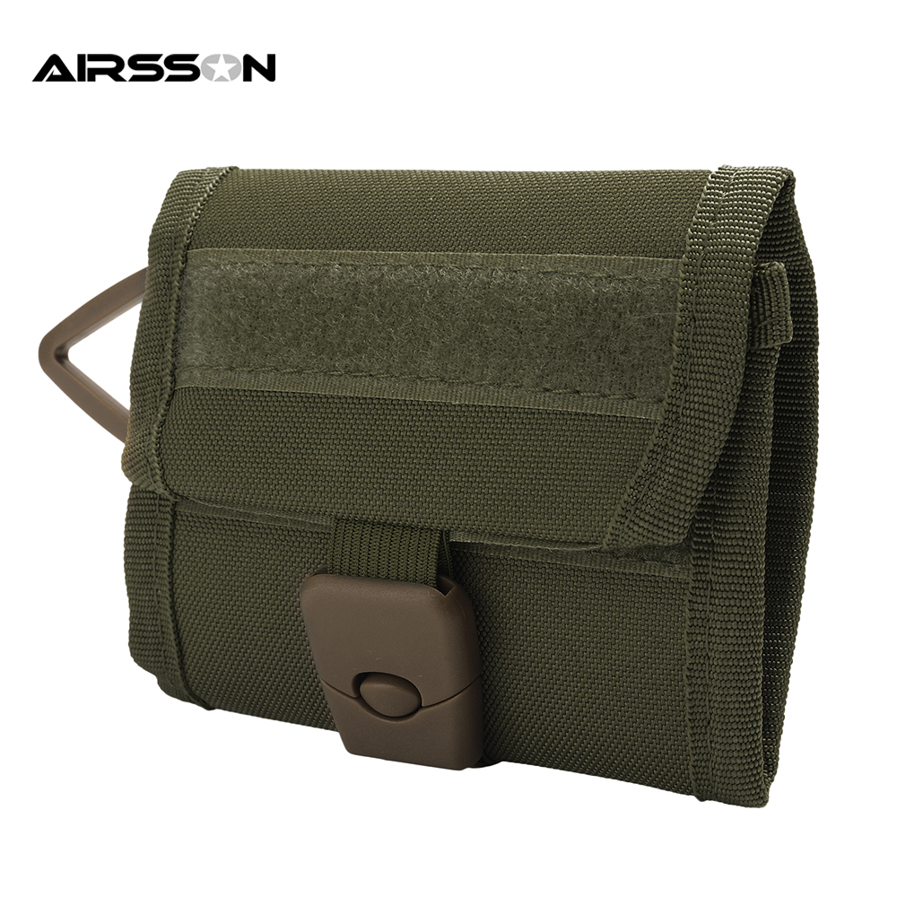 Military Tactical Wallet ID Credit Card Holder Coin Pocket C