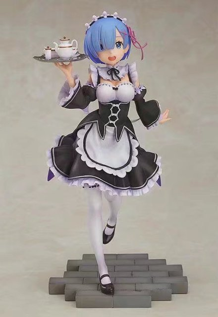 """Re:Zero"" Rem Serving Maid Action Figure"