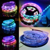 NEW White 5M 32LED M WS2801 5050 RGB Digital LED Strip Waterproof SP103E Controller