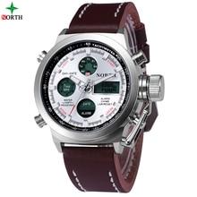 Men Sport Watch Waterproof Military LED Digital Watch Analog Alarm Relogios Masculinos 2016 Fashion Casual Sport Wristwatch Men