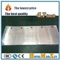 100 unids/lote 4.7 pulgadas frontal de plástico sello de la fábrica de film film protector de pantalla para iphone 6 6 s fábrica