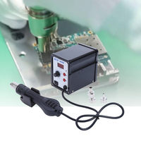 EU Solder Rework Station 858D 700W Hot Air Gun ESD Air Soldering Station LED Digital Desoldering